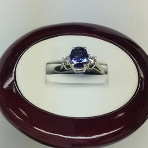 Diamond Sapphire Rings